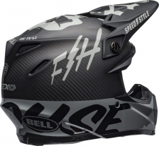 Fasthouse Fast Tribe. Bell Moto 9 Flex NEGRO/GRIS